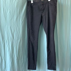 Black denim LOFT jeans